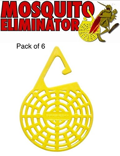Insect Repelling Hanging Mosquito Eliminator- 6 Pack