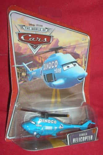 Disney Pixar Cars Dinoco Helicopter - Véhicule Miniature - Voiture