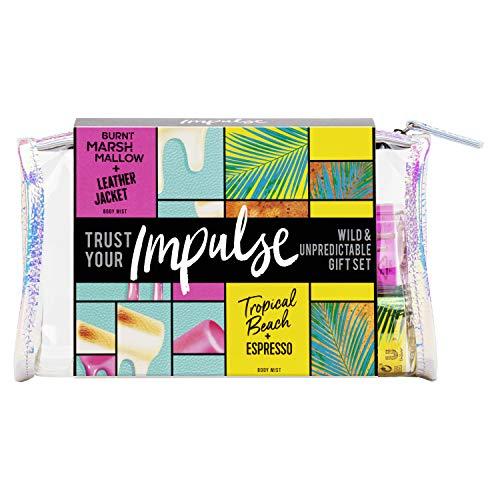 Unilever Impulse Wild & Unvorhersehbare Body Mists Beauty Bag Geschenkset 2-teilig