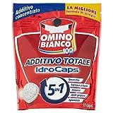 Omino Bianco - Additivo Totale 5in1 IdroCaps Power - Smacchiatore Concentrato - 12capsule - 240g