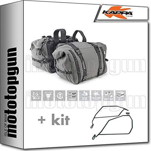 kappa borse laterali ra316 25 lt + portaborse laterali compatibile con moto guzzi v7 iii stone 2020 20