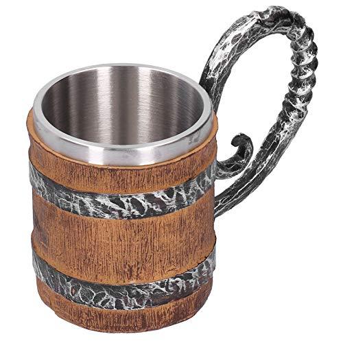 Taza Para Beber De Resina, Taza De Cerveza De Acero Inoxidable Material De Acero Inoxidable Aspecto Exquisito Diseño 3d Para Diversas Necesidades, Como Vino Y Bebidas