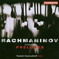 Preludes by PYOTR IL'yich TCHAIKOVSKY (2003-09-23)