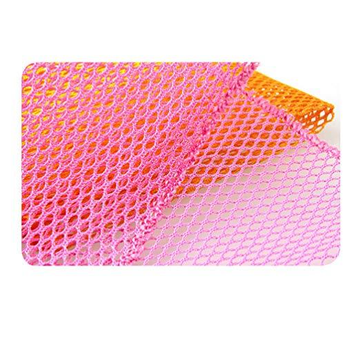 Angoily 4 Unids Innovadores Trapos para Platos Malla para Lavar Platos Paños de Red Estropajo Paño de Cocina de Secado Rápido Esponjas para Lavar Sartén Olla Plato de Baño Piso