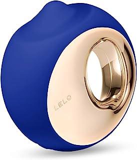 LELO ORA 3 Massager voor orale bevrediging, middernachtblauw, sensuele intieme stimulator voor vrouwen