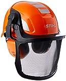 Stihl Unisex Kinder Helmset Spielzeughelm, Orange, Einheitsgröße