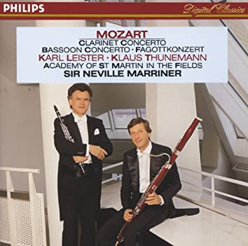 Mozart: Clarinet & Bassoon Concertos (Academy of St. Martin in the Fields)