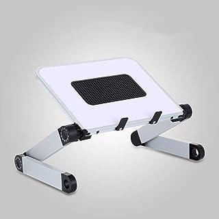 Laptop Stand with Fan, Adjustable Laptop Table Stand, Ergonomic Laptop Riser Notebook Reading Holder for Desk, Foldable La...