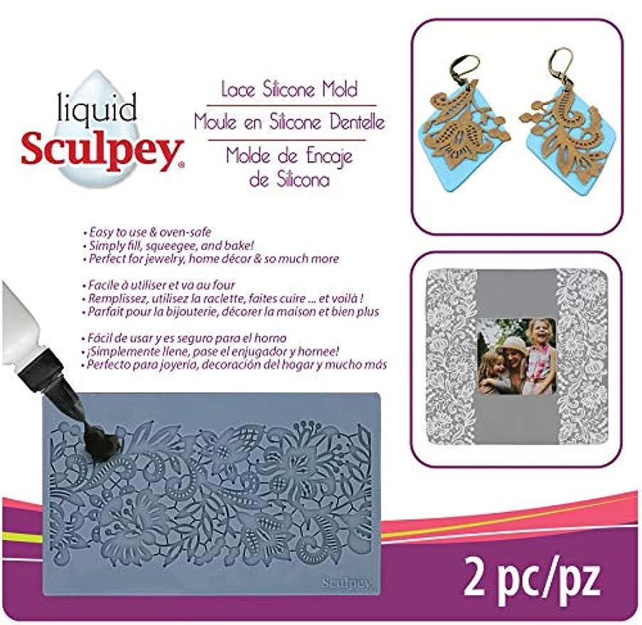Sculpey APM-56 Flexible Push Mold-Lace