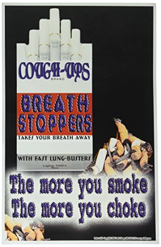 Poster #160 Graphic Don't Smoke Poster for Teens, Tobacco Prevention Poster