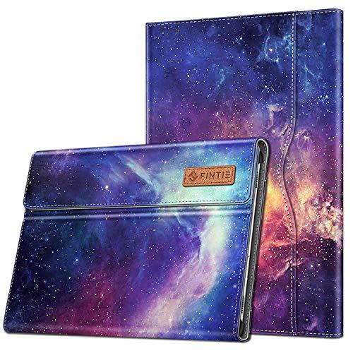 Fintie Hülle für Samsung Galaxy Tab S6 10.5 2019 (Kompatibel mit S Pen kabelloser Ladefunktion) - Multi-Winkel Betrachtung Schutzhülle mit Dokumentschlitze und Auto Schlaf/Wach Funktion, Die Galaxie