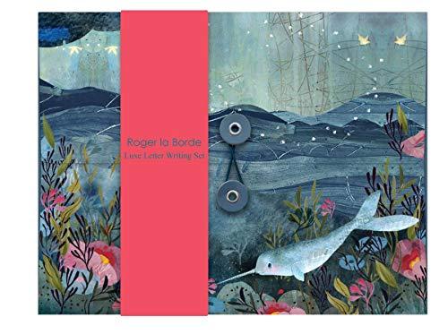 Briefpapier-Set Roger-la-Borde 10xA5 Bögen Umschläge 2xA5 Bögen Sticker je 2 Motive Unterwasserwelt