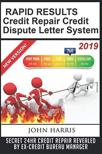 RAPID RESULTS Credit Repair Credit Dispute Letter System