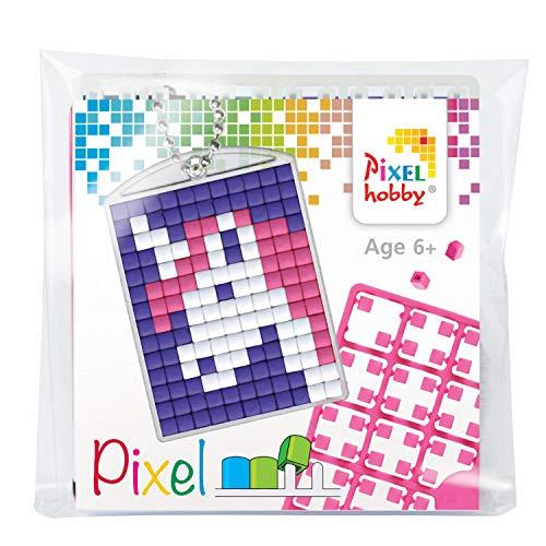 PIXEL P23034 Lot de médaillon Licorne Porte-clés pour Enfants, garçons et Filles, idéal comme Petit Cadeau, Cadeau d'anniversaire, Multicolore