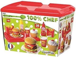 Ecoiffier Hamburger Set Outdoor Toy - 000 2623, Multicolor - Multi Color