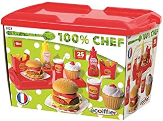Ecoiffier Hamburger Set Outdoor Toy - 000 2623, Multicolor - Multi Color