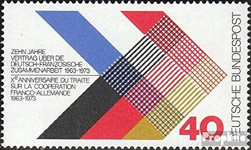 Prophila Collection BRD (BR.Deutschland) 753 (kompl.Ausgabe) 1973 Deutsch-französischer Vertrag (Briefmarken für Sammler)