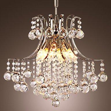 J&G Kronleuchter Pendelleuchte Luxus moderne Kristall Lüster Hängelampe Deckenleuchte Lampe für Wohnzimmer Schlafzimmer Konferenzraum