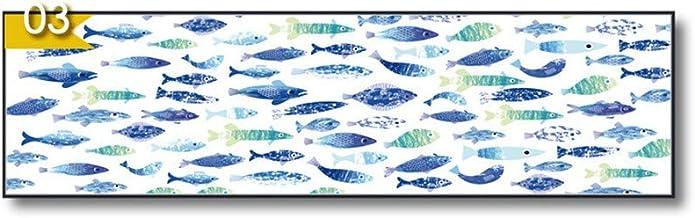 WSNDG Einfache Moderne Wohnzimmer abstrakte dekorative horizontale Lange Leinwand Gemälde ohne Bilderrahmen B3 40x150cmx1