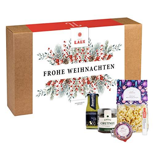 LAUX Feinkost Frohe Weihnachten Geschenkset in toller Geschenkbox
