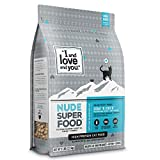 I and love and you Nude Dry Cat Food - Grain Free Limited Ingredient Kibble, Whitefish + Chicken,...