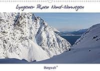 Lyngener Alpen Nord-Norwegen (Wandkalender 2022 DIN A3 quer): Die Lyngener Alpen im norwegischen Winter (Monatskalender, 14 Seiten )