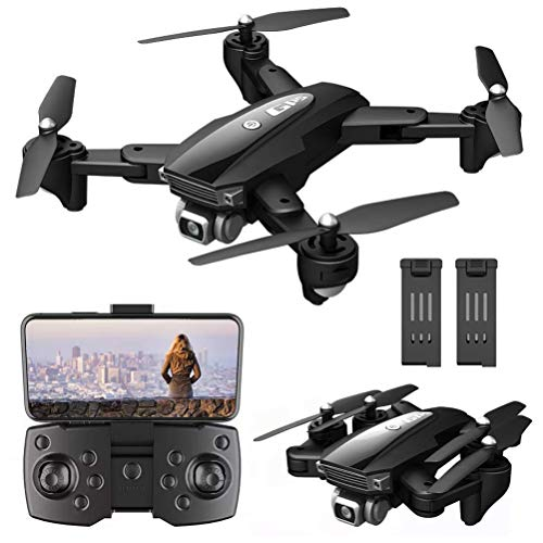 Detazhi GPS Drone 3000M Remote Control Distance, 6K Drone with HD Camera for Adults, 5G WiFi FPV Live Video, Foldable Drone GPS with Auto Return Home, 1800M Image Transmission Distance