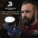 Bossman Colotion - 2 in 1 Men's Lotion and Cologne - Moisturizer and Hydrating Scented Body Lotion - Beard Softener… 4