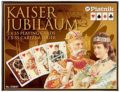 Piatnik 213847 - Carte da gioco Kaiser Imperial Bridge WK [importato dalla Germania]