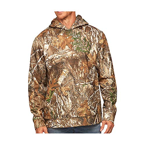 Realtree Edge Camo Light Weight Performance Pullover Hoodie (Small)
