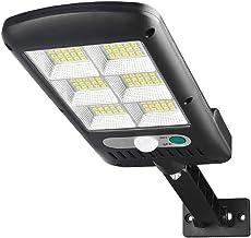 مصباح بعدد 120 انارة LED، يعمل بالطاقة الشمسية ومزود بمستشعر اضاءة، للشارع والحديقة والفناء، للاستخدام اليومي والداخلي وال...