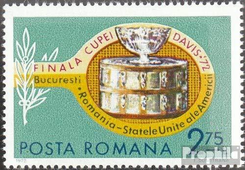 Prophila Collection Romania 3052 (Completa Edizione) 1972 Davis-Cup (Francobolli per i Collezionisti) Tennis / Ping Pong