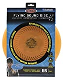 Flying Sound Disc - Light-Up and Bluetooth Speaker Throwing Disc-Orange