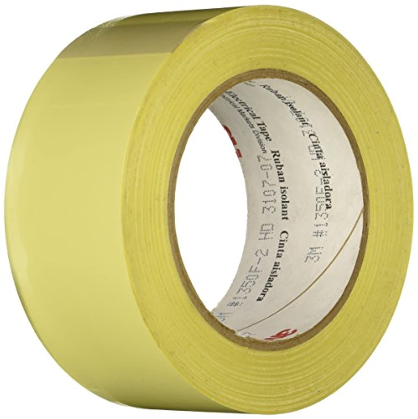 3M 1350F-2Y Yellow Electrical Tape, 2