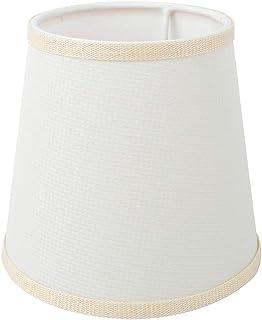 Ymiko Pantalla de lámpara Pantalla de Tela Pantalla de luz Cubierta de lámpara para lámpara de Mesa y luz de Piso