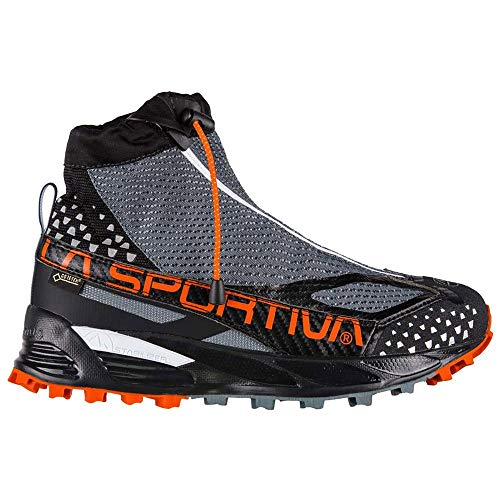 La Sportiva Crossover 2.0 Woman GTX, Zapatillas de Trail Running para Mujer, Multicolor (Slate/Pumpkin 000), 40.5 EU