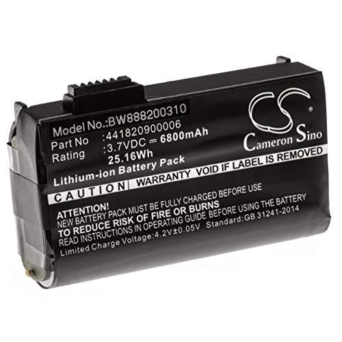 vhbw Akku Ersatz für Nautiz 441820900006 für Barcodescanner POS (6800mAh, 3.7V, Li-Ion)