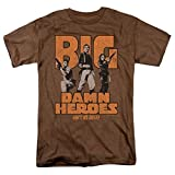Firefly Serenity Big Damn Heroes TV Show Heather T Shirt & Stickers (Large)