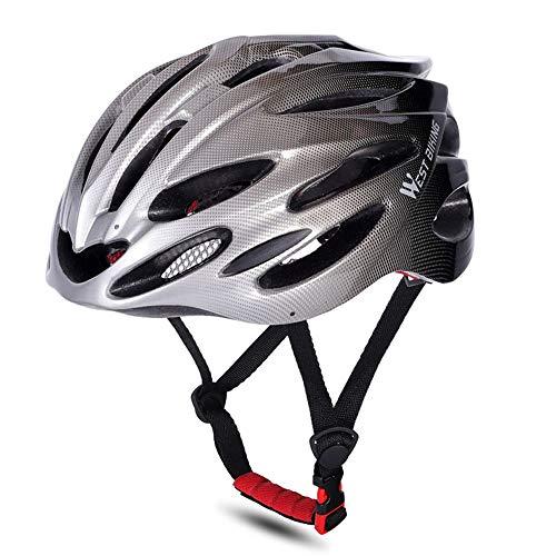 Lixada Cascos de Bicicleta MTB Carretera Gorra de Seguridad Ciclismo Protecciones Cascos