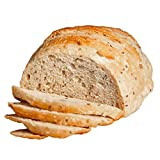 Fresh Sourdough Bread – San Francisco Bakery Style Dutch Oven Country Seed Loaf – Hand-made & Whole Grain – Natural – 1 Sliced Artisan Round 34 oz