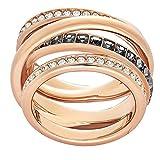 Swarovski Damen-Ringe Edelstahl Kristall '- Ringgröße 50 5184220