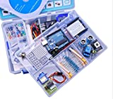 UNO Project The Most Complete Starter Kit for Arduino UNO R3 Mega2560 Nano with Tutorial/Power Supply/Stepper Motor