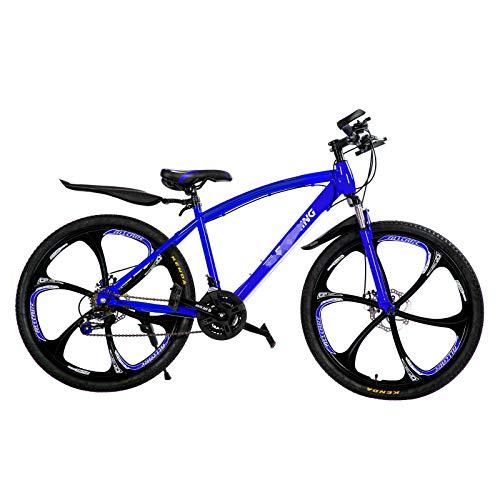 Vélo De Montagne pour Adultes De Face Suspension Vélo Pliant, 21 Vitesses pour des Hommes Vélos Vélo À Roues 26\