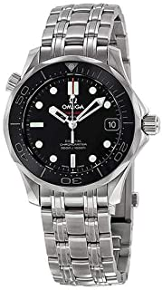 Omega 212.30.36.20.01.002 Seamaster Automatic Unisex Watch - Black Dial