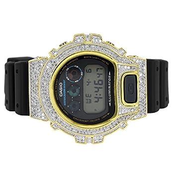 simulated diamond watch