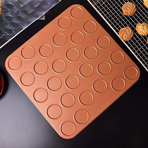 Gâteau Biscuit Moule Macaron Moule Outils Antiadhésif Pan Panier Four Ménage Biscuits en Aluminium Acier Pan Outils (Couleur:B)