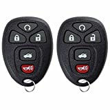 KeylessOption Keyless Entry Remote Control Car Key Fob Replacement for 15912860 (Pack of 2)