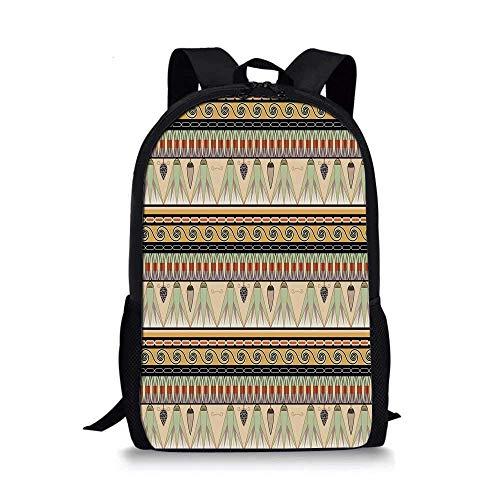 HOJJP ñ mochila escolar von ruedas 1960s Decorations Stylish School Bag,ClassicRetro Automobile Collage Bumper and Headlights Classic Old Style City Vehicle Decorative for Boys,11''L x 5''W x 17''H