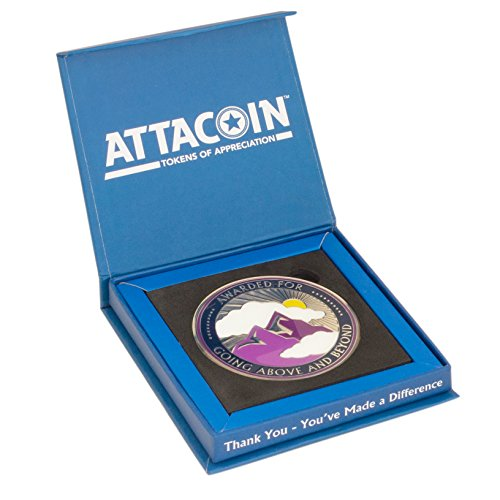 AttaCoin - Employee Appreciation Gifts - Motivation Award (Single...