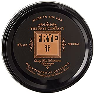 FRYE Leather Conditioning Cream, Neutral Color: Neutral Size: One Size Model: Leather Conditioning Cream Car/Vehicle Accessories/Parts